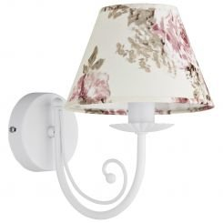 Бра TK Lighting 370 ROSA WHITE