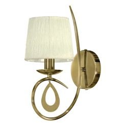 Бра Victoria Lighting Lin/AP1 antique bronze