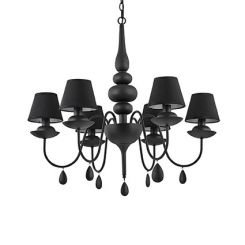 Ideal Lux BLANCHE SP6 NERO (111872) - 111872