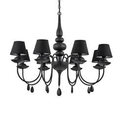 Ideal Lux BLANCHE SP8 NERO (111896) - 111896