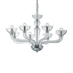 Ideal Lux CASANOVA SP8 TRASPARENTE (044255) - 044255